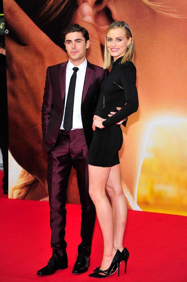 Cendrillon ou Katniss : qui êtes-vous ? Zac-Efron-et-Taylor-Schilling-le-25-avril-2012-a-Londres