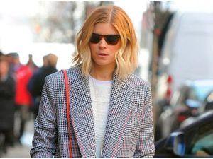 Kate Mara : look smart & casual parfait pour une virée en journée !