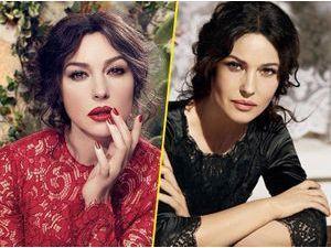 Beauté : Monica Bellucci : italienne sexy et toujours aussi glamour pour Dolce & Gabbana !