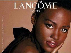 Mode : Lupita Nyong'o : découvrez la première image de sa campagne pour Lancôme !