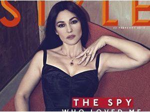 Mode : Monica Bellucci : la nouvelle James Bond girl, plus sexy que jamais pour Style !