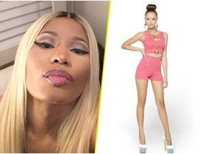 Mode : Nicki Minaj : elle dévoile sa collection printemps-été 2014 en photos sur Instagram !