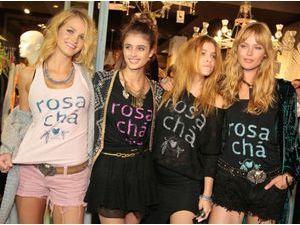 Photos : Erin Heatherton, Barbara Palvin… ribambelle de tops pour l'ouverture de Rosa Cha à Sao Paolo !