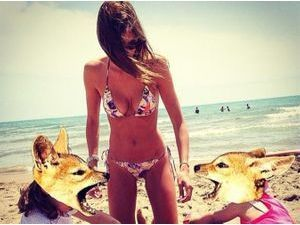 Alexandra Rosenfeld : sexy la Miss en bikini !