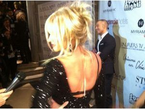 Lauriers TV Awards : mais qui est cette jolie blonde en photo ?