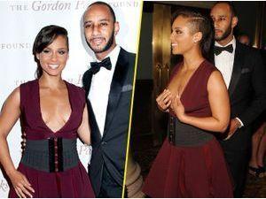 Photos : Alicia Keys : prête à tout déballer à un gala de charité... Ou pas !