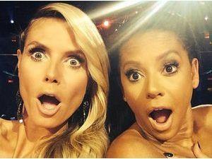 Photos : Heidi Klum et Mel B : elles s'amusent à jouer les jurées dénudées sur le plateau d'America's Got Talent !