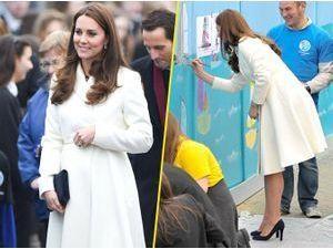 Photos : Kate Middleton : une duchesse lumineuse qui se lance dans l'art !