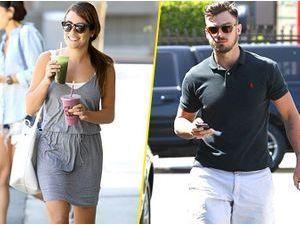 Photos : Lea Michele : impossible de la décoller de son nouveau boyfriend !