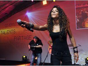Photos : Louisy Joseph : elle signe son premier retour scène depuis son élimination de Danse avec les stars !