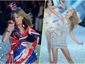 Photos : Taylor Swift : pas de lingerie mais une grosse dose d'énergie au Victoria's Secret Fashion Show 2013 !