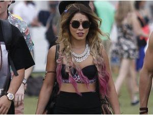 Photos : Vanessa Hudgens : la it-girl fait son grand retour looké à Coachella !
