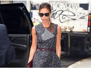 Photos : Victoria Beckham : une new-yorkaise élégante qui sait parfaitement mettre en valeur ses créations !