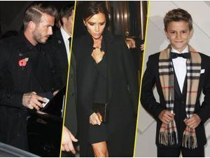 Photos : Victoria et David Beckham : relégués au second plan par leur fils, Romeo !
