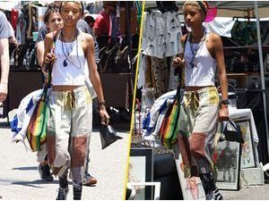 Photos : Willow Smith : l'adolescente au look rasta arbore désormais un anneau au nez !