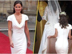 """Pippa Middleton : avait-t-elle un """"faux cul"""" lors du mariage de sa soeur ? Le débat est relancé !"""