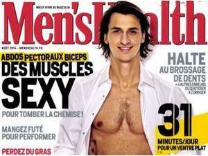 Zlatan Ibrahimovic : reprise sexy et sportive en Une de Men's Health pour la star du PSG !
